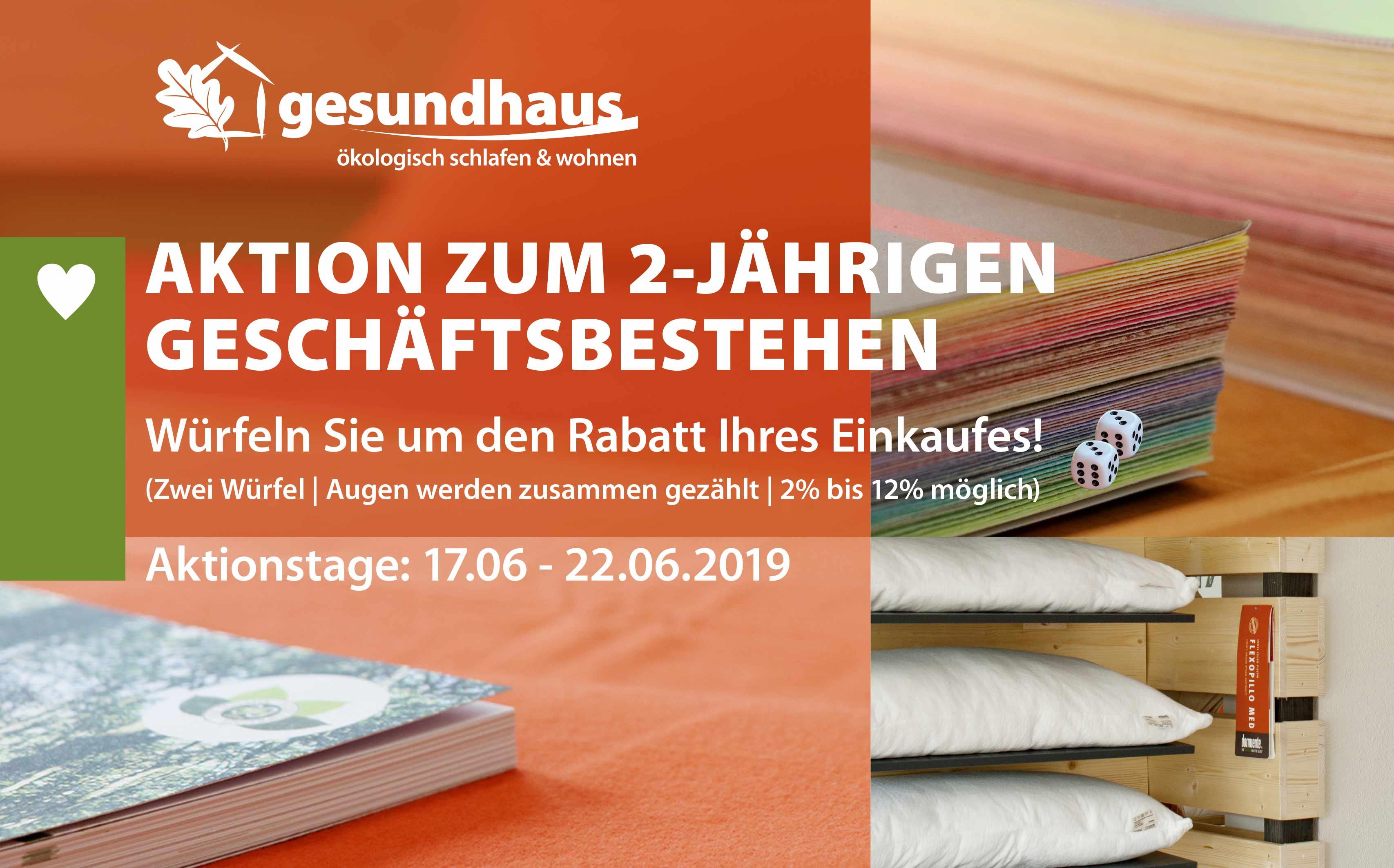 Gesundhaus-Banner-Aktion-Wuerfel